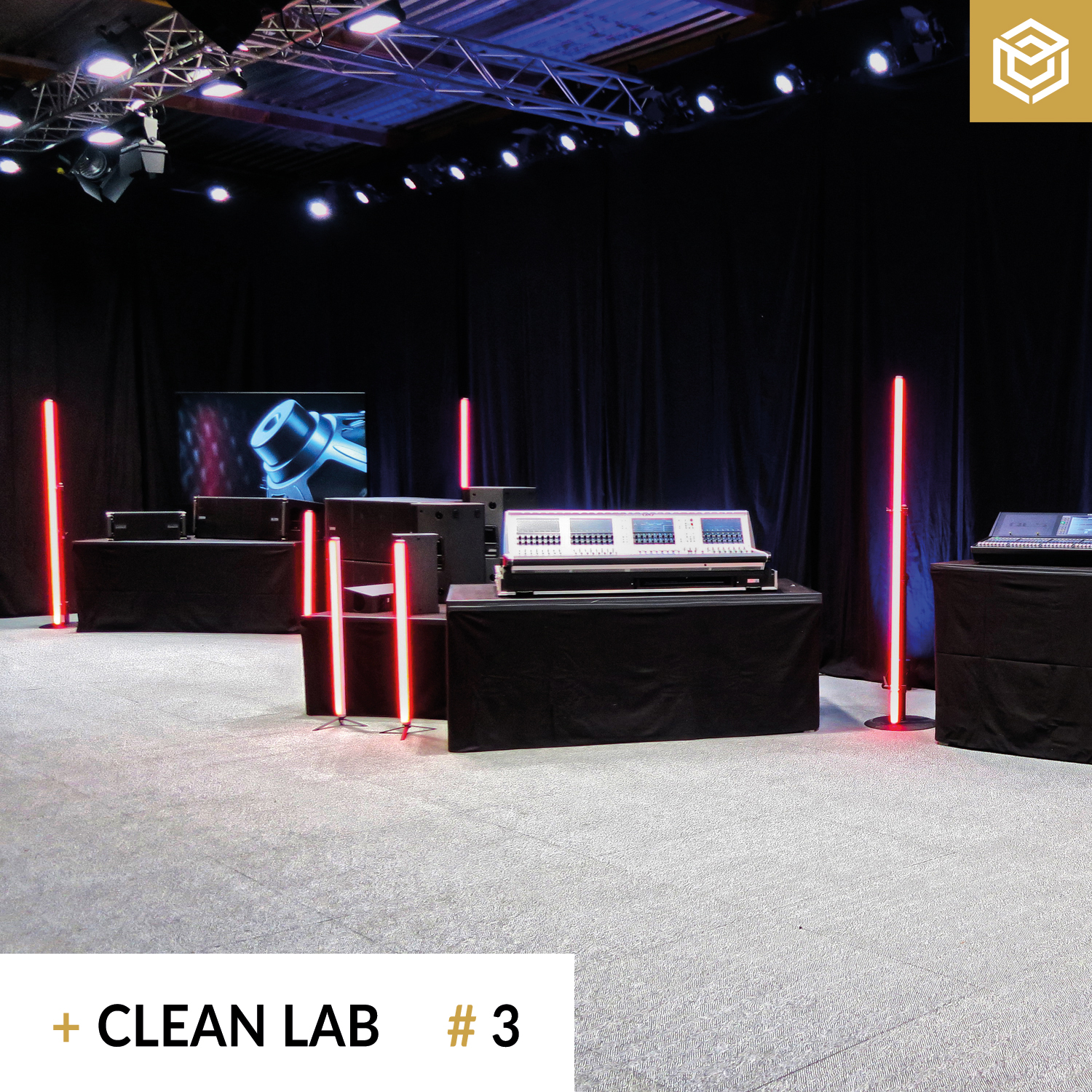 Streaming Studio Clean Lab