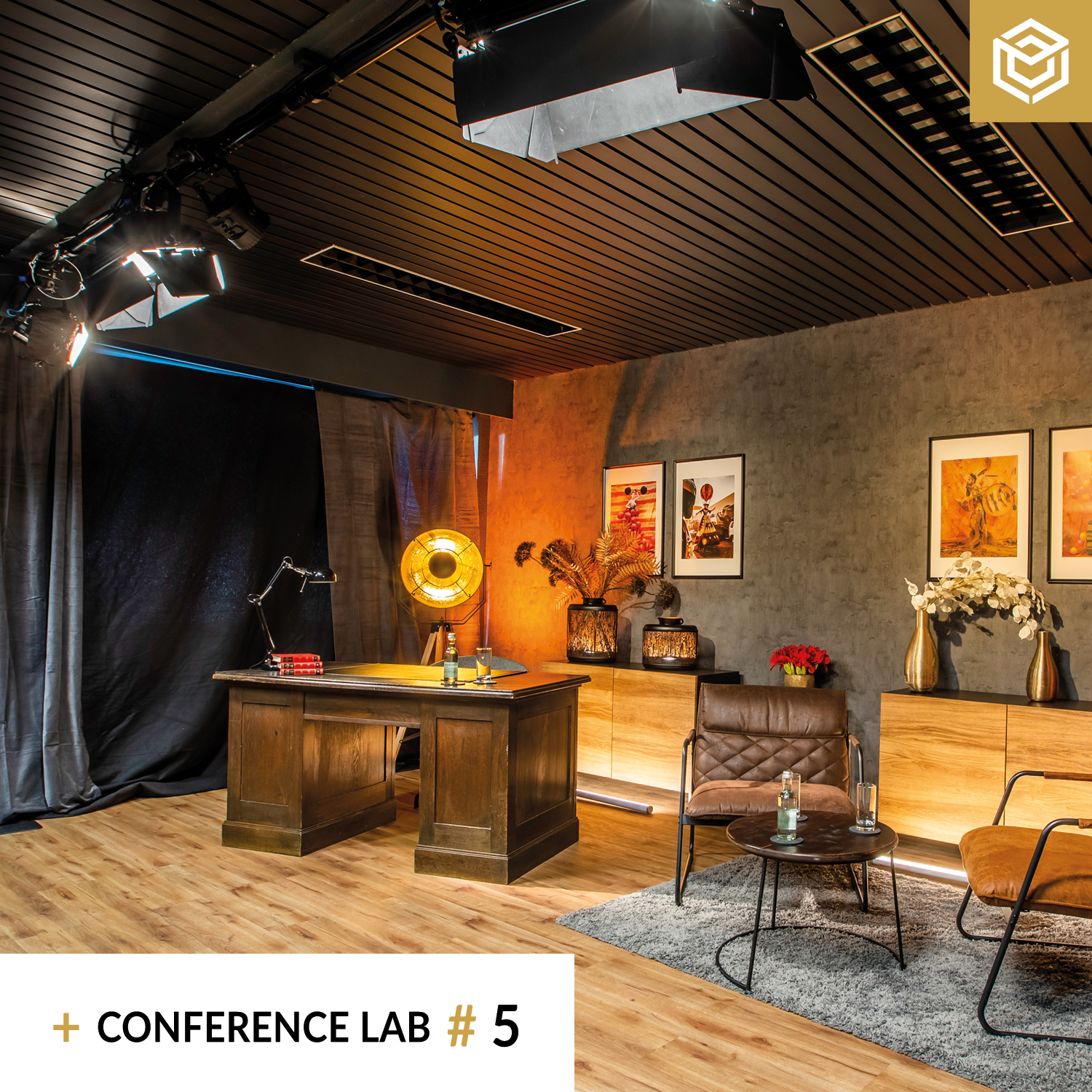 Streaming Studio Conference Lab