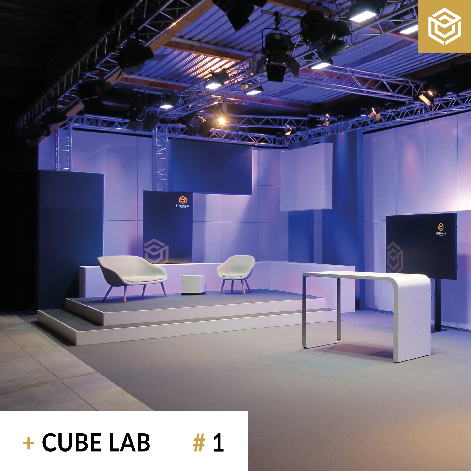 Streaming Studio Cube Lab