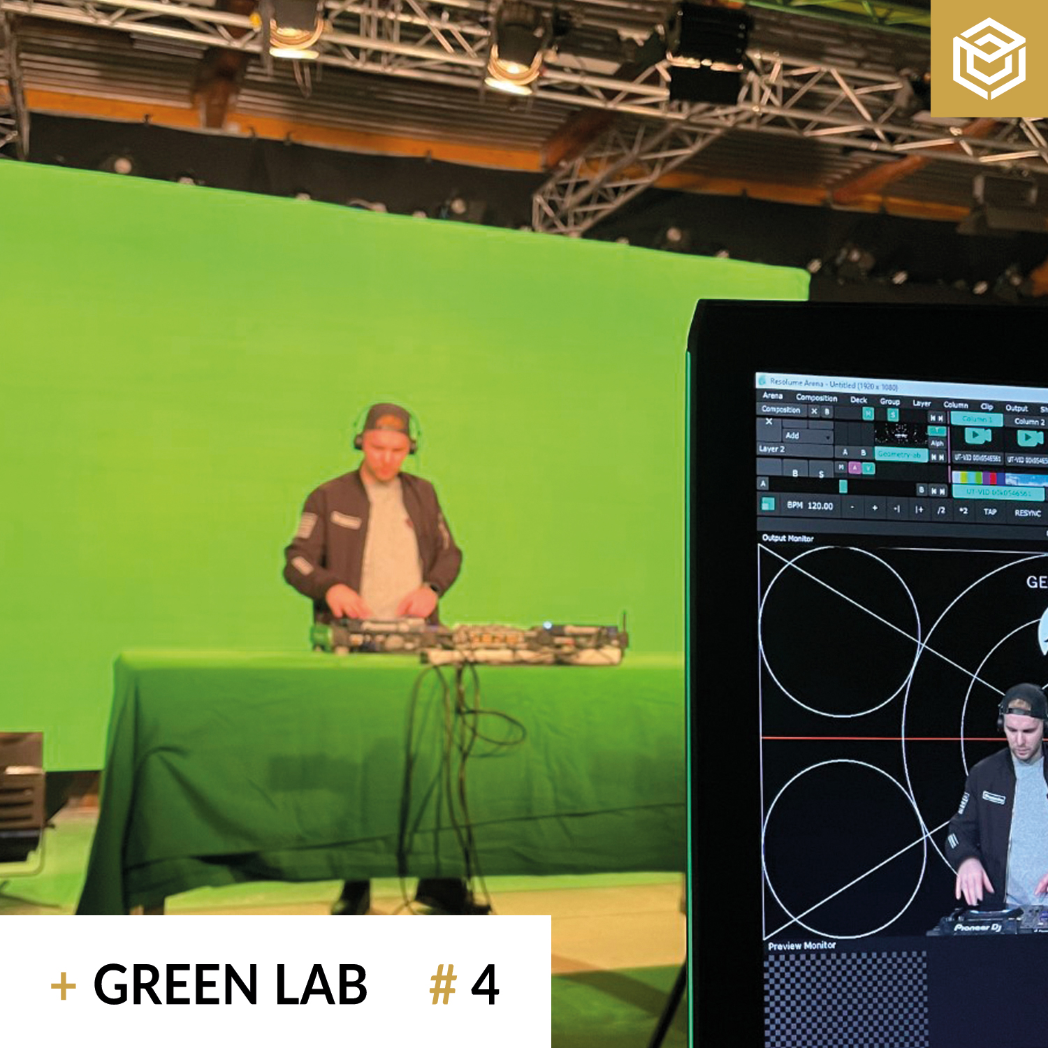 Streaming Studio Green Lab